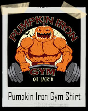 Pumpkin Iron Gym T-Shirt