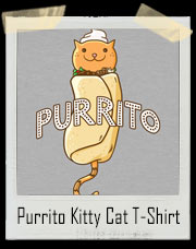 Purrito Kitty Cat T-Shirt