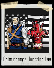 Chimichanga Junction Deadpool / Outkast Stankonia Inspired T-Shirt