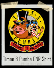 Welcome To The Jungle Timon And Pumba GNR Inspired T-Shirt