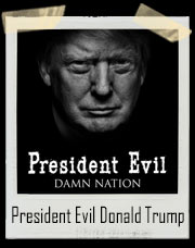 President Evil Damn Nation Donald Trump T-Shirt