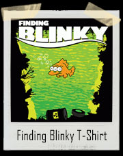 Finding Blinky The Three-Eyed Fish Simpsons And Finding Nemo Inspired T-Shirt
