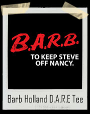 Barb Holland D.A.R.E Stranger Things Inspired T-Shirt