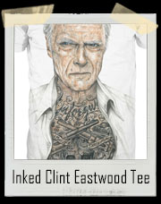 Inked Clint Eastwood Tattoo T-Shirt