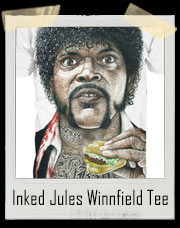 Inked T2 Jules Winnfield Pulp Fiction Inspired T-Shirt