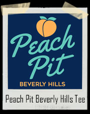 Peach Pit Beverly Hills 90210 Inspired T-Shirt