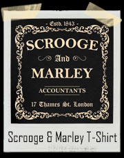 Scrooge and Marley Accountants A Christmas Carol Inspired T-Shirt