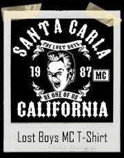 Santa Carla California Lost Boys Motorcycle Club T-Shirt