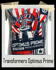 Transformers Optimus Prime Autobots T-Shirt