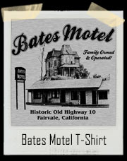 Bates Motel Family Owned And Operated T-Shirt