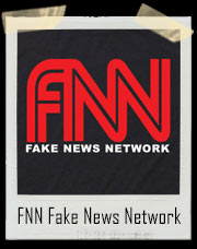 FNN Fake News Network CNN Donald Trump Parody T-Shirt