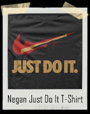 Negan Just Do It Walking Dead / Nike Inspired Bloody Bat T-Shirt