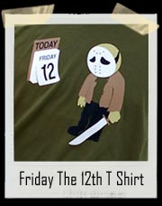 Jason Voorhees Friday the 12th T-Shirt