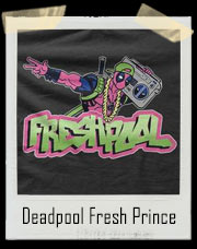 Freshpool Of Bel Air Deadpool / Fresh Prince Of Bel Air Inspired T-Shirt