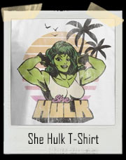 She Hulk Beach Body 1980 T-Shirt