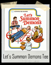 Let's Summon Demons Game T-Shirt