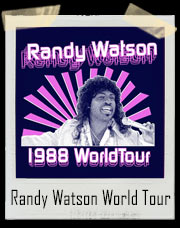 Randy Watson And The Sexual Chocolate 1988 World Tour T-Shirt