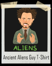 The Real Answer Ancient Aliens Guy T-Shirt