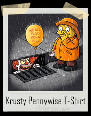 Krusty The Clown Pennywise IT T-Shirt