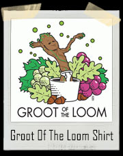 Guardians of the Galaxy Groot / Fruit Of The Loom Inspired T-Shirt