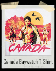 Canada Baywatch Style T-Shirt