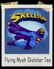 Flying Myah Super Skeletor T-Shirt