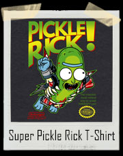 Super Solenya Bros Pickle Rick T-Shirt