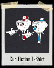 Cup Fiction - Cuphead and Mugman T-Shirt
