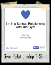 Serious Gym Relationship Shirt