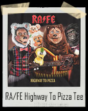 Highway To Pizza Rock-afire Explosion T-Shirt