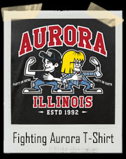 Party Time Fighting Aurora Parody T-Shirt