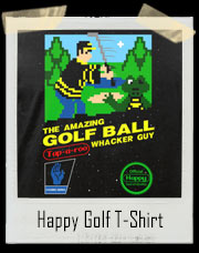 The Amazing Golf Ball Whacker Guy Golf T-Shirt