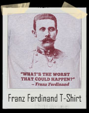 Franz Ferdinand What's The Worst That Could Happen? T-Shirt