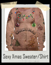 Sexy Tattoo Christmas Sweater / T-Shirt