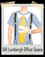 Bill Lumbergh Office Space Costume T-Shirt