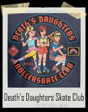 Death's Daughters Rollerskate Club T-Shirt