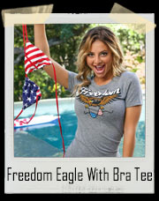 Freedom Eagle With Bra Tee