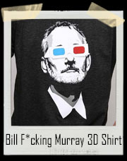 Bill F*cking Murray 3D Glasses T-Shirt