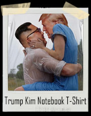 Trump Kim Notebook T-Shirt