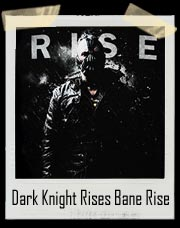 Bat Man Dark Knight Rises Bane Rise T-Shirt