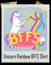 Unicorn And Rainbow BFFS T-Shirt