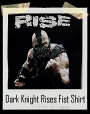 Batman Dark Knight Rises Bane Fist T-Shirt