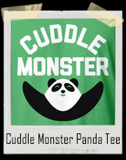 Cuddle Monster Panda T-Shirt