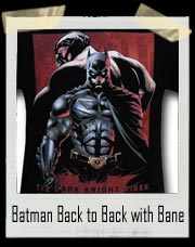 Batman Dark Knight Rises Back to Back with Bane T-Shirt