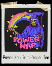 Power Nap Grim Reaper Rainbow T-Shirt