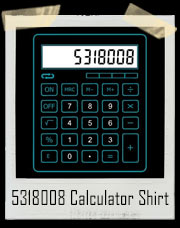 5318008 Calculator Boobies T-Shirt