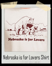 Nebraska is for Lovers - Cow Love T-Shirt