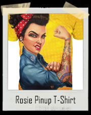 Rosie Pinup Girl Power T-Shirt