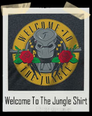 Welcome To The Jungle Parody T-Shirt