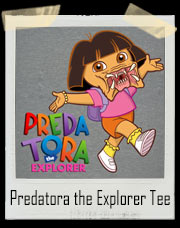 Predatora the Explorer Parody T-Shirt